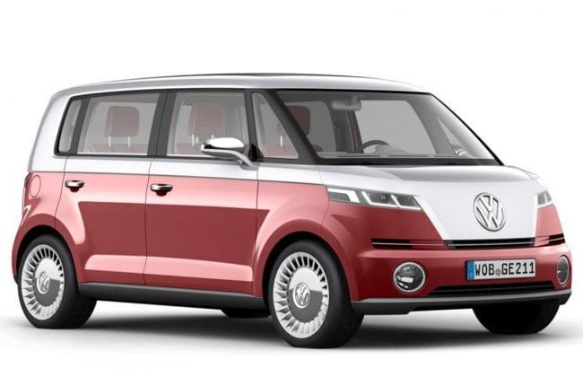 El regreso de la Volkswagen Camper ecológica, la mitica furgoneta camper de los años 50-60 ahora con motor eléctrico.