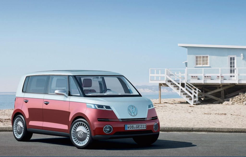 Furgoneta camper Volkswagen que funcionará con motor electrico. Una revolucion de la nueva generacion de campers ecologicos.