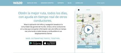 Con la aplicacion para el movil Waze será más fácil viajar con furgonetas camper