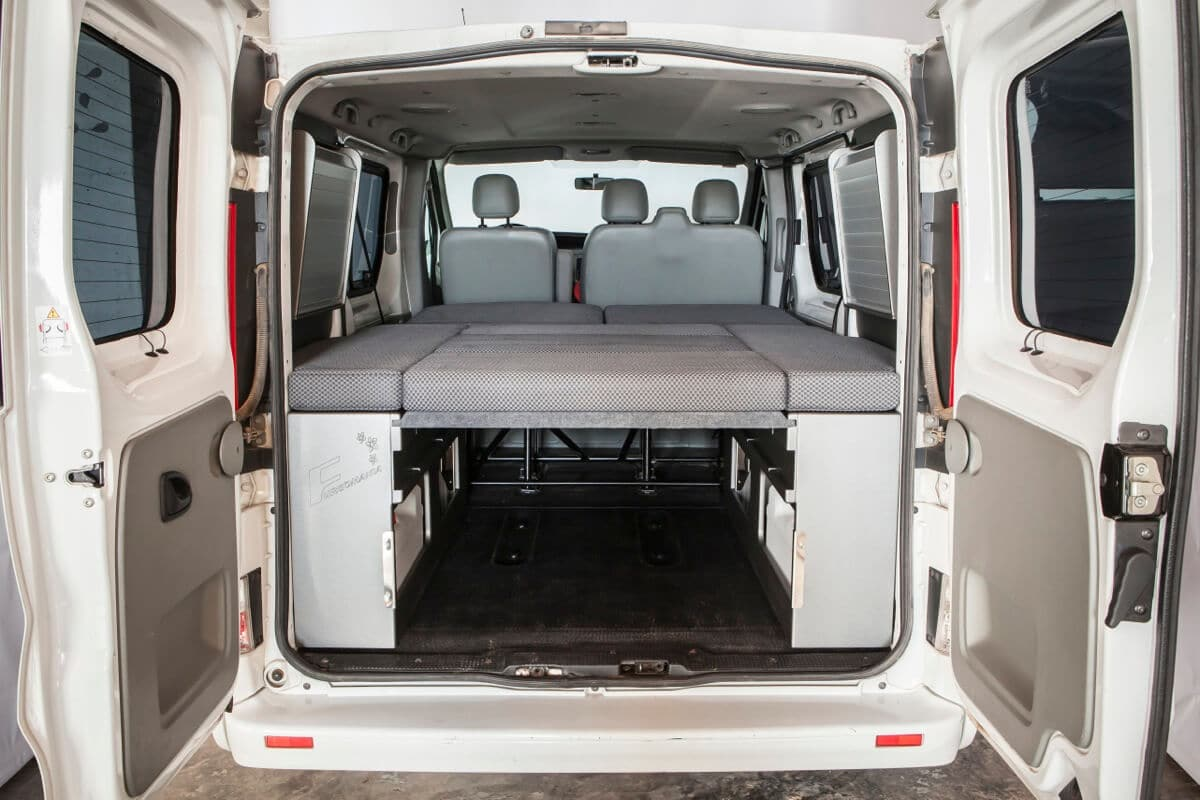 wohnmobil ausbau ford tourneo courier. Black Bedroom Furniture Sets. Home Design Ideas