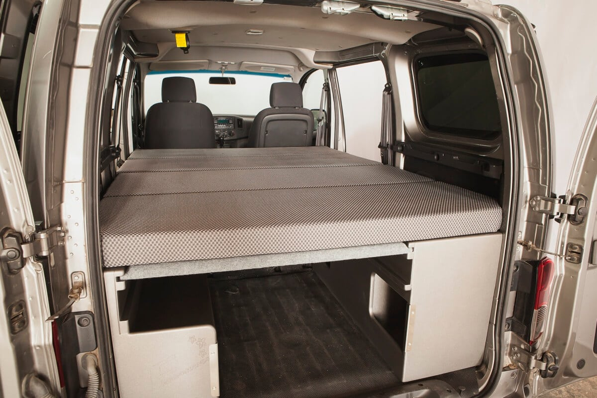 furgomania kit nissan nv200 nissan nv200. Black Bedroom Furniture Sets. Home Design Ideas