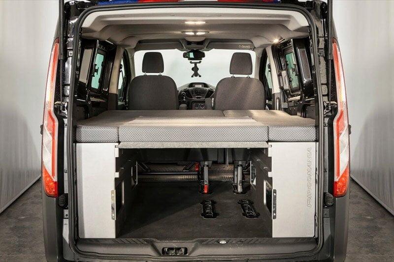 Ford Transit Custom >> Ford Transit-Custom | Furgonetas camperizadas con cama