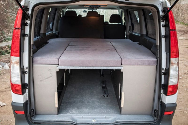 mercedes camper kit alto para vito larga. Black Bedroom Furniture Sets. Home Design Ideas