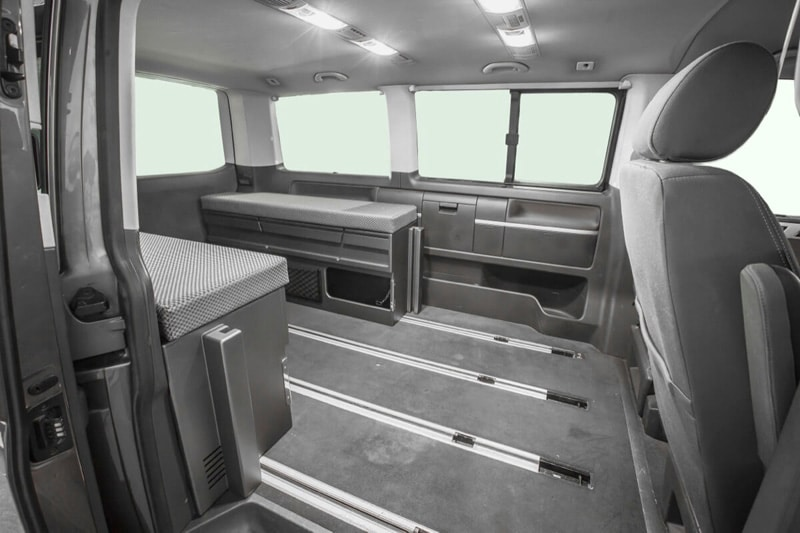 Cama para furgonetas Camper | Nissan Nv300
