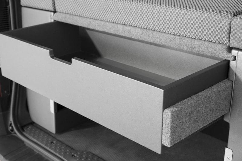 Cajón para kit cama tercer sillón Opel