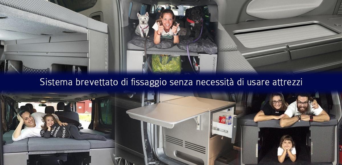 Mobili per trasformare furgoni in camper 3